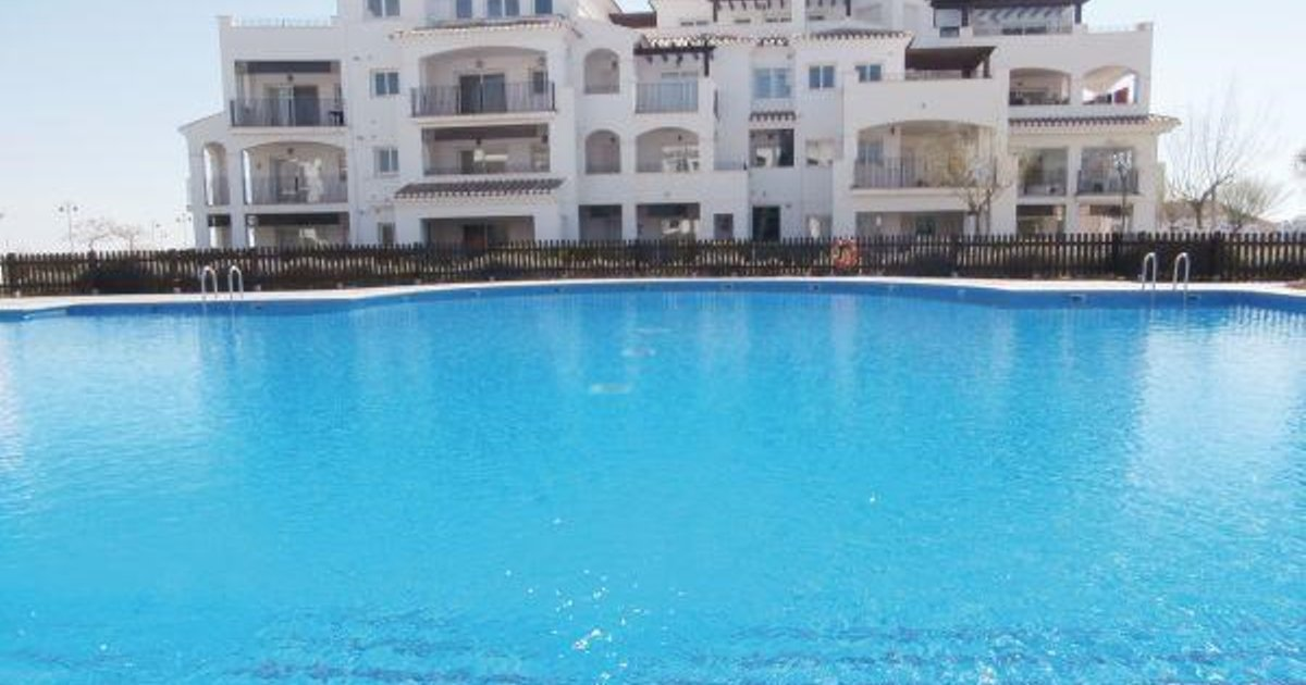 Two-Bedroom Apartment Sucina; Murcia with Lake View 03