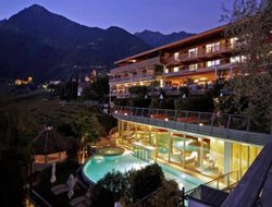 Top-4 of luxury Merano hotels