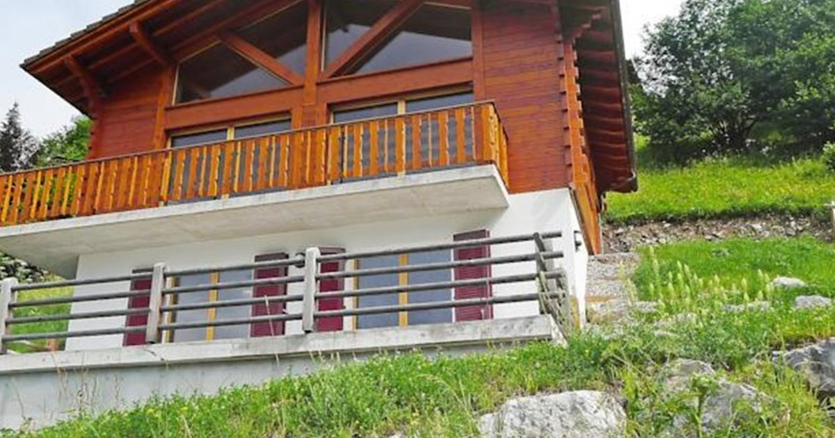 Chalet Chalet Double Rouge
