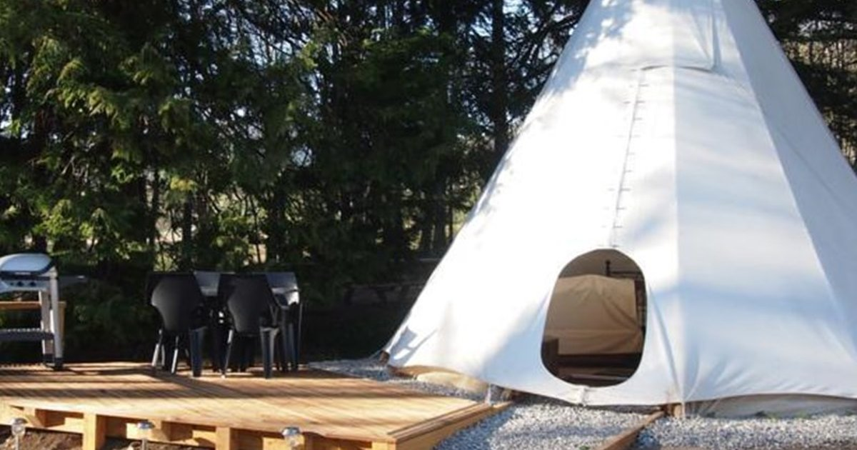 Tipi Glamping at Camping La Source