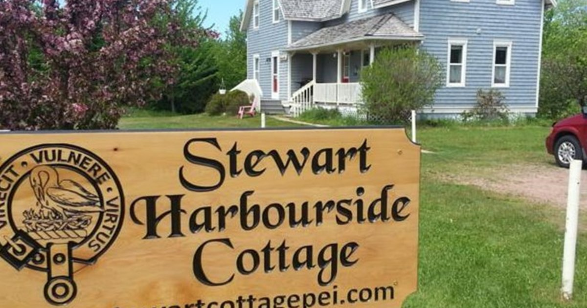 Stewart Harbourside Cottage West Point Pei