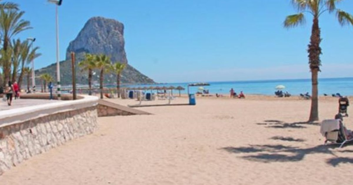 Apartment with pool, near the beach in Calpe