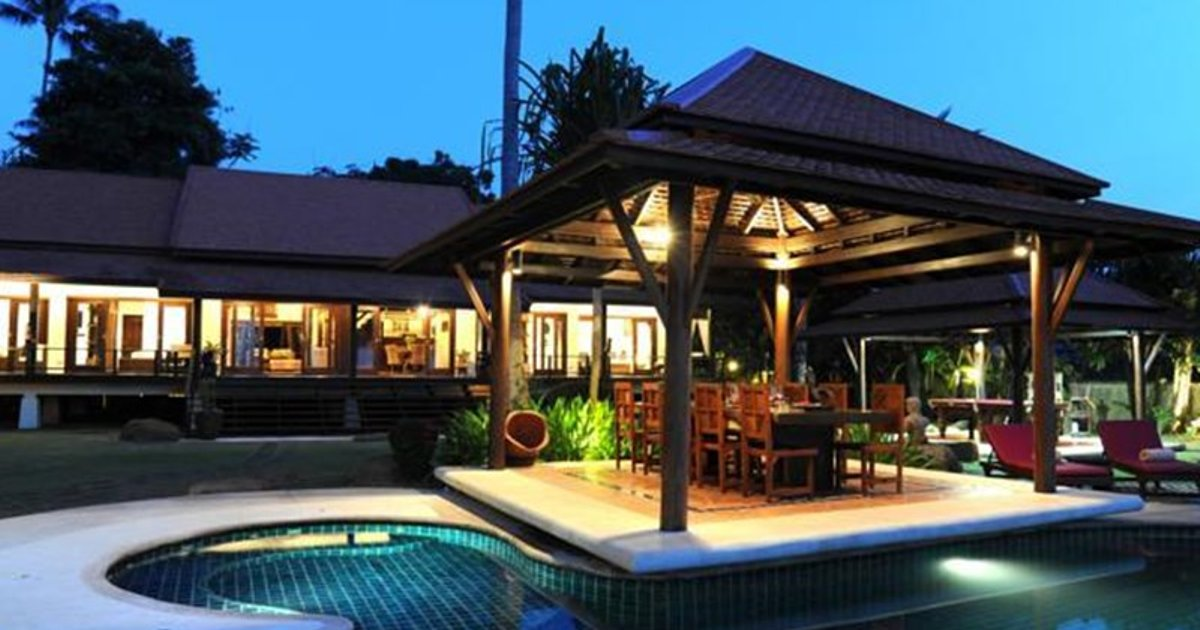 4 Bedroom Luxury Sea View Villa - Plai Laem ANG