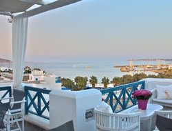 Paros Island hotels with sea view
