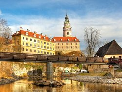 Cesky Krumlov hotels with Russian personnel