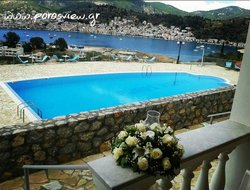 Poros Island hotels with swimming pool