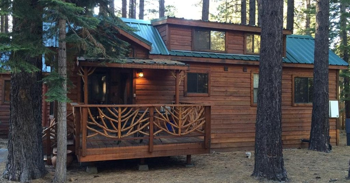 Knotty Pine Cabin