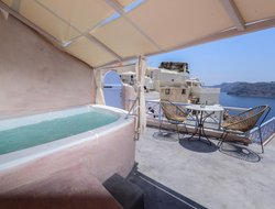 Oia hotels with sea view