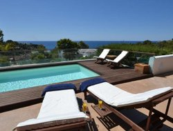 Cala Tarida hotels with swimming pool