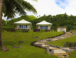 Rarotonga Island hotels with sea view