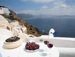 Oia hotels with panoramic view