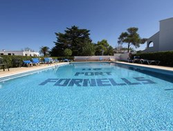 Fornells hotels with sea view