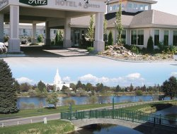 Idaho Falls hotels with river view