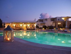 Paros Island hotels for families with children