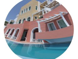Top-10 romantic Fira hotels