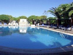 Patmos Island hotels with swimming pool