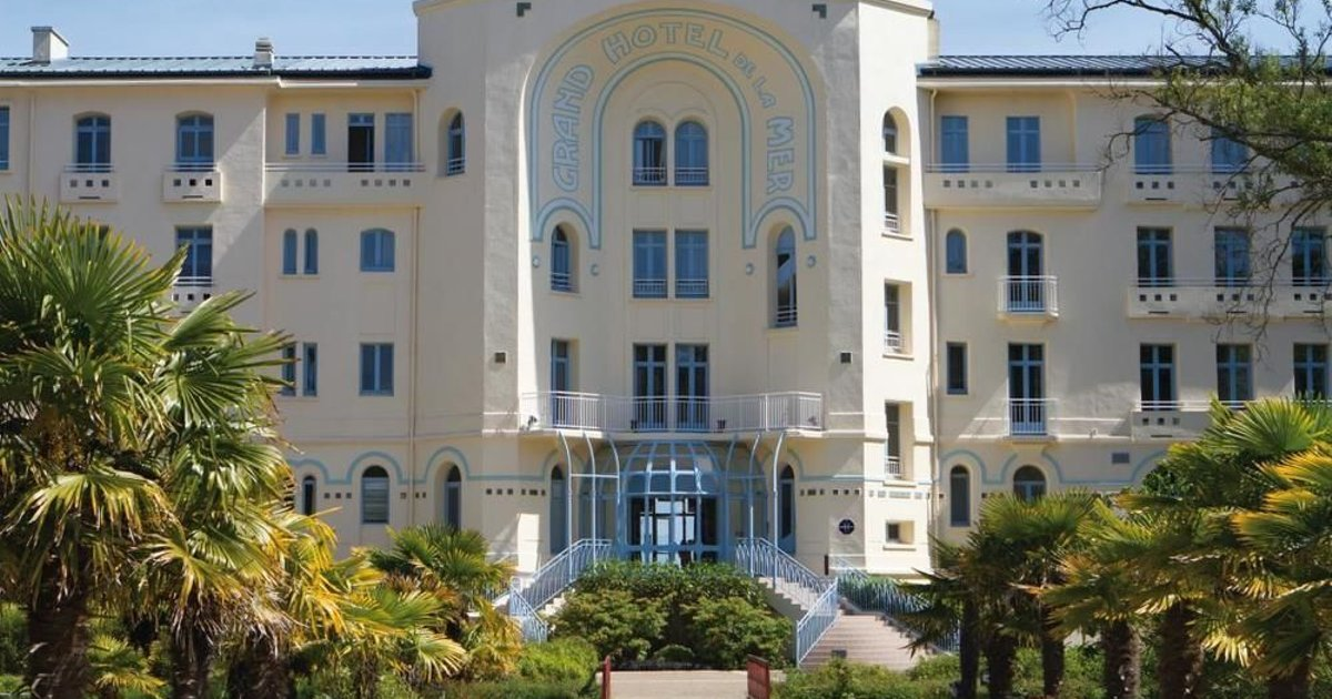 Belambra Hotels & Resorts Morgat le Grand Hotel de la Mer