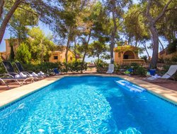 Moraira hotels with sea view