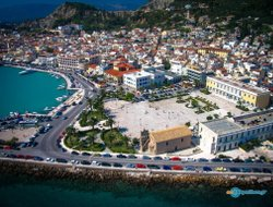 Top-7 hotels in the center of Zakynthos Town