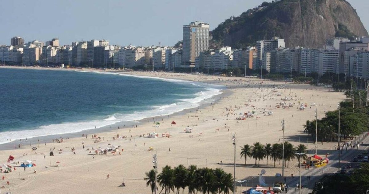 Beach front Copacabana