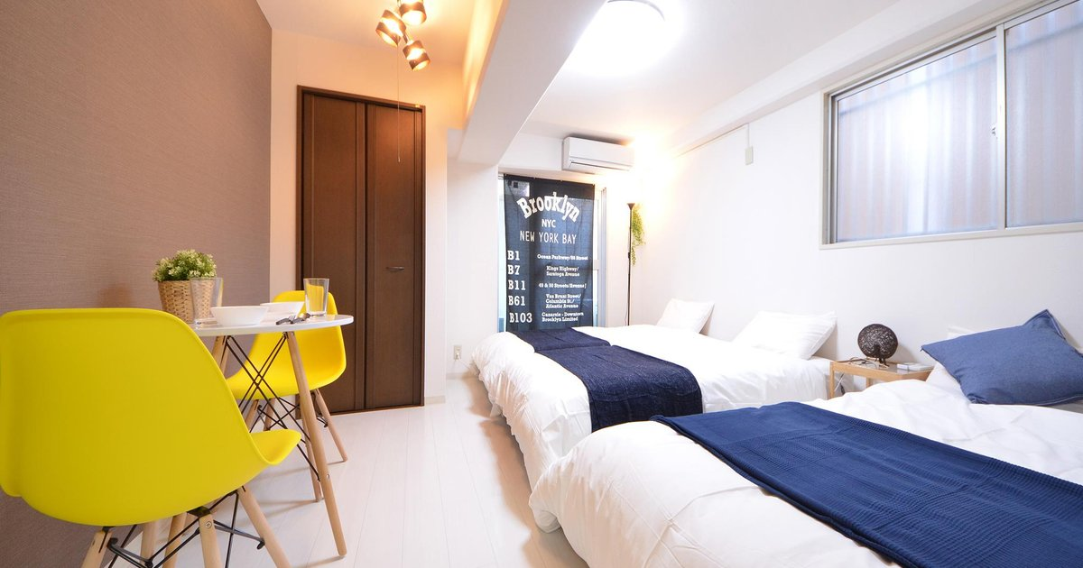 SG 1 Bedroom Apartment near Namba Shinsaibashi 201
