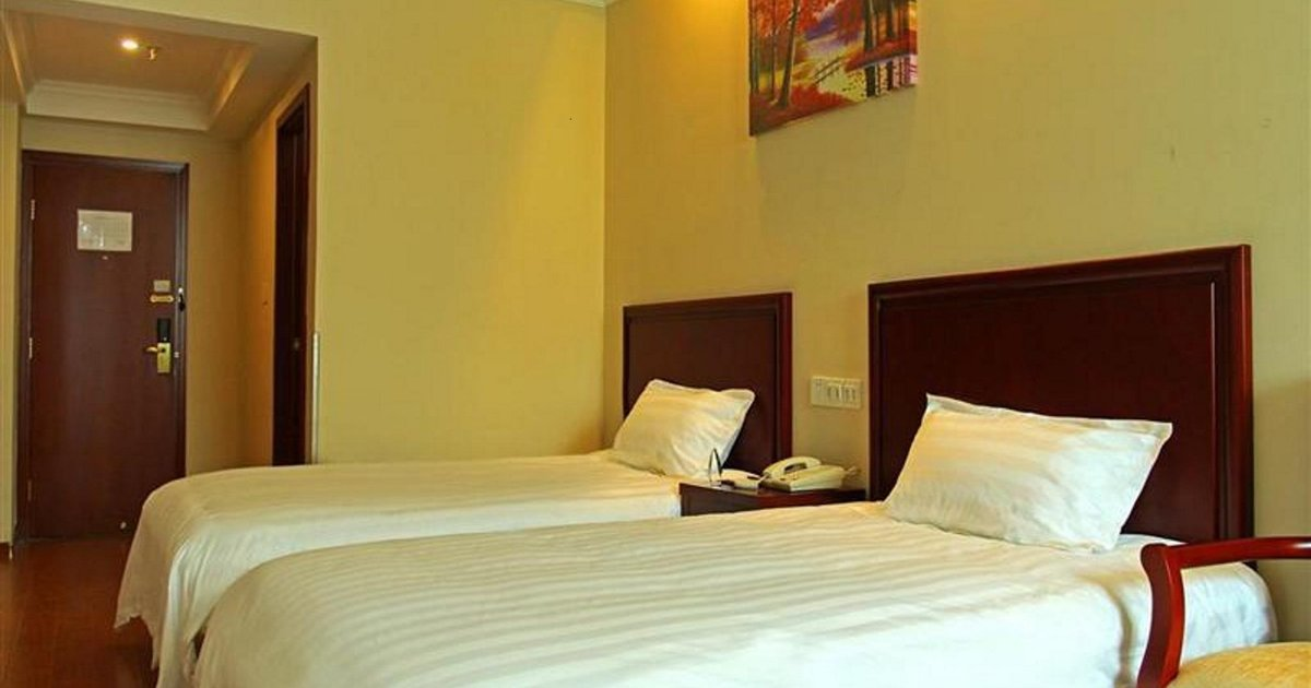 GreenTree Inn Jiangsu Nantong Qidong Middle Heping Road Business Hotel