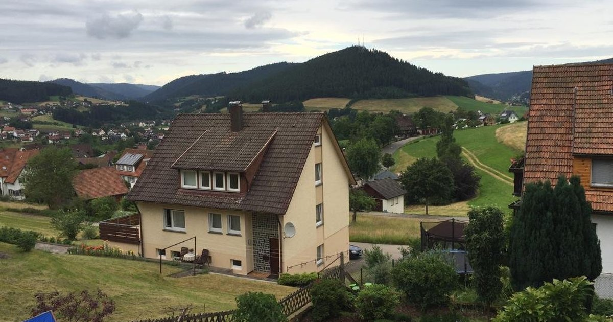 One-Bedroom Apartment with Mountain View in Baiersbronn/Mitteltal