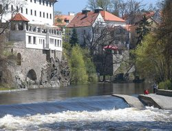 Cesky Krumlov hotels with swimming pool