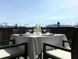 Crans Montana hotels with swimming pool