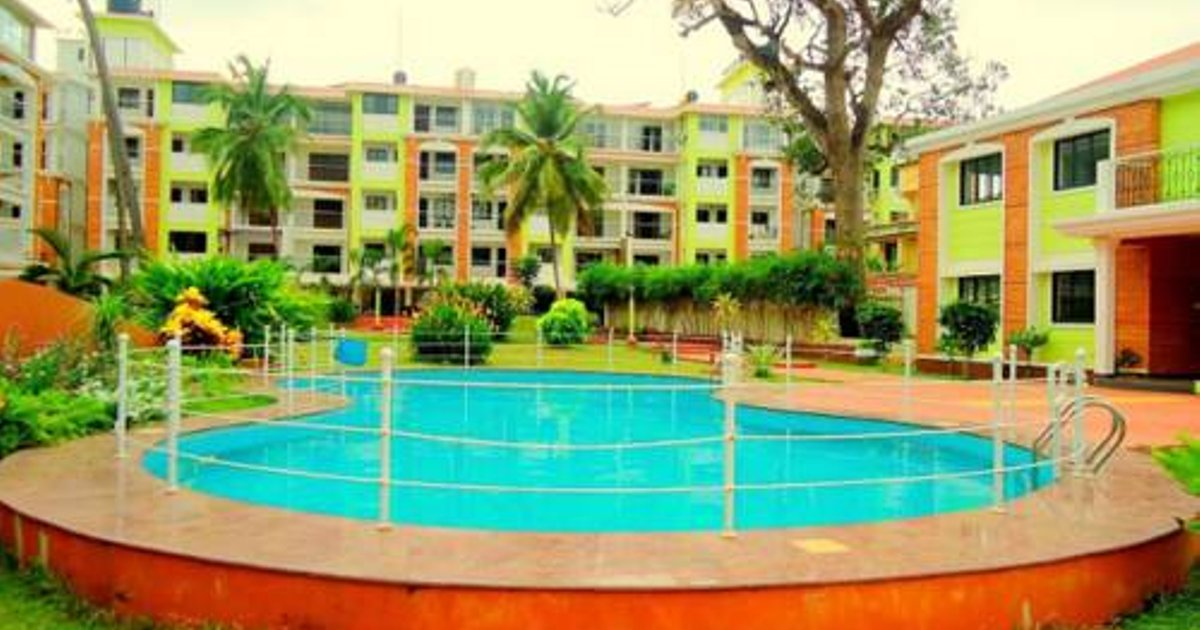 Luxurious 1BHK With Pool View CM010