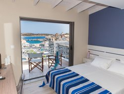 Agios Nikolaos hotels with lake view