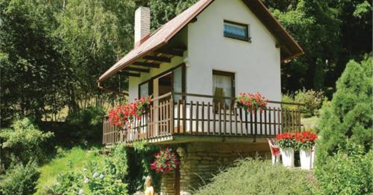 Holiday Home Hradek-Novy Hradek with Fireplace 2041