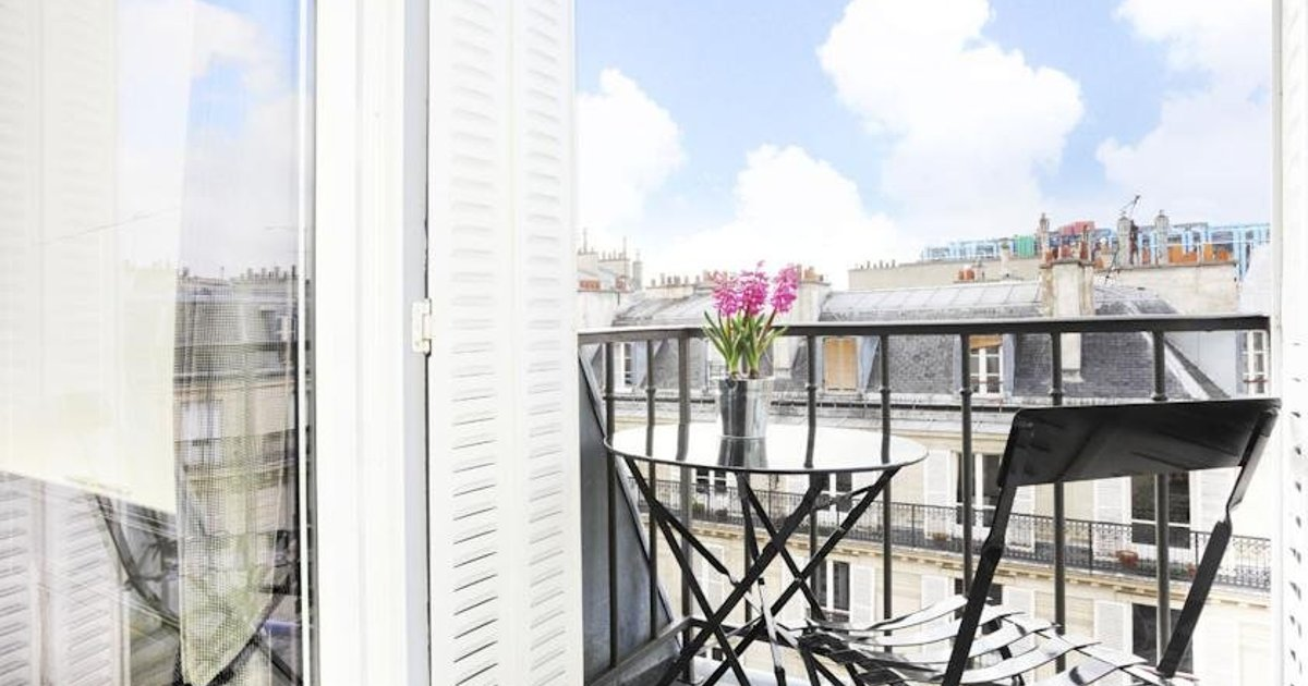 Livinparis Luxury Onebedroom In Le Marais Pompidou
