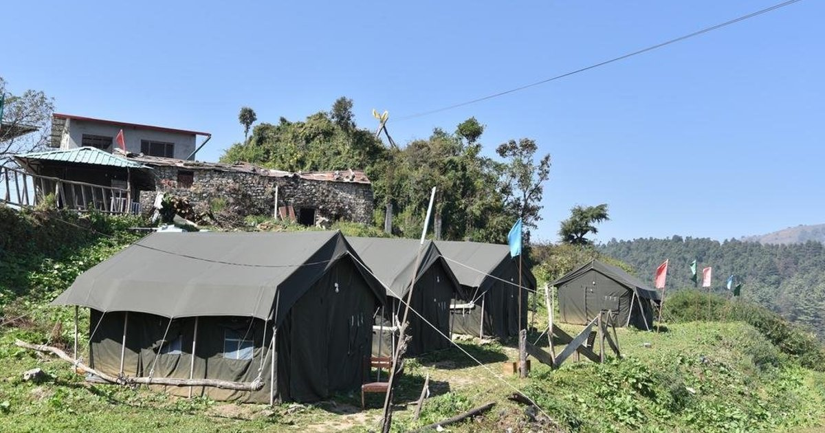 Scenic Tent Stay in George Everest, Hathipaon