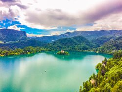 Top-10 hotels in the center of Bled