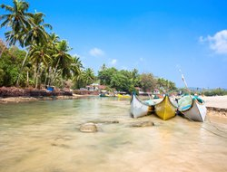 Top-10 hotels in the center of Calangute