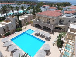 Top-7 hotels in the center of Adelianos Kampos
