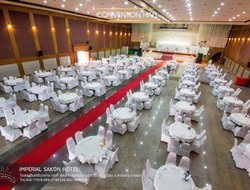 Top-3 hotels in the center of Sakon Nakhon