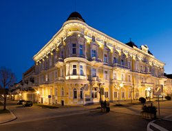 Top-10 hotels in the center of Frantiskovy Lazne