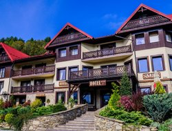 Top-4 hotels in the center of Szczawnica