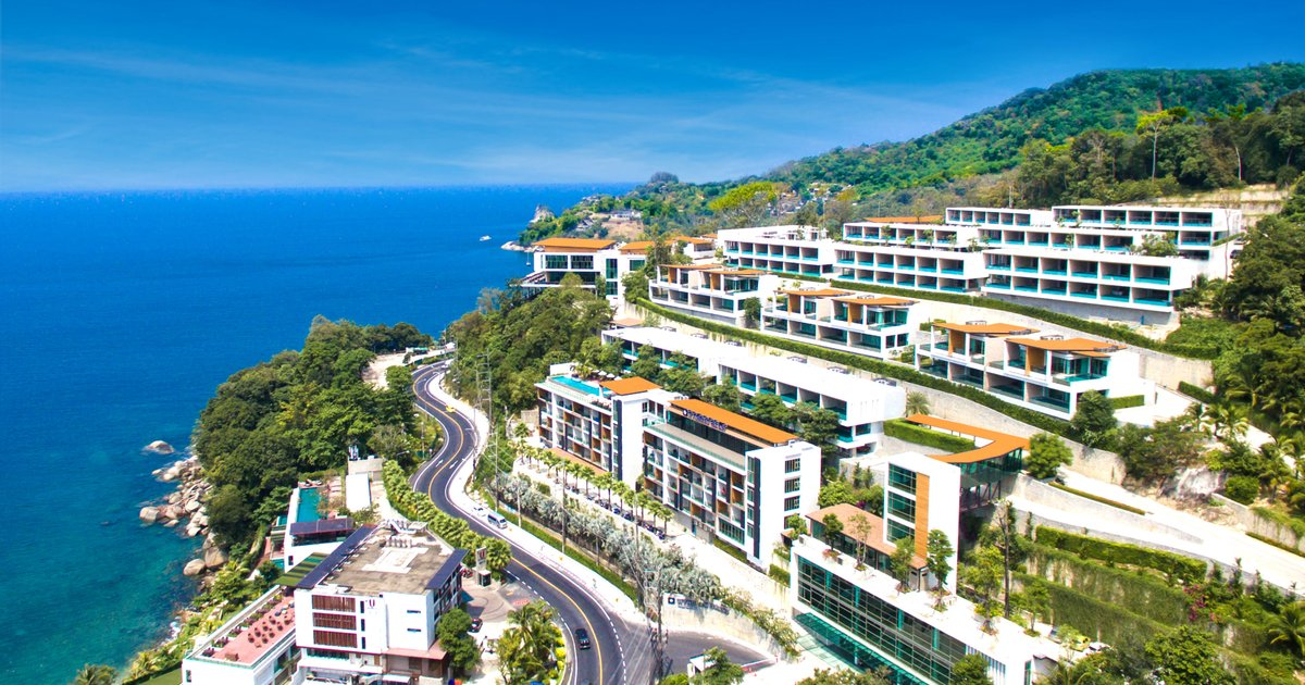 Отель Wyndham Grand Phuket Kalim Bay