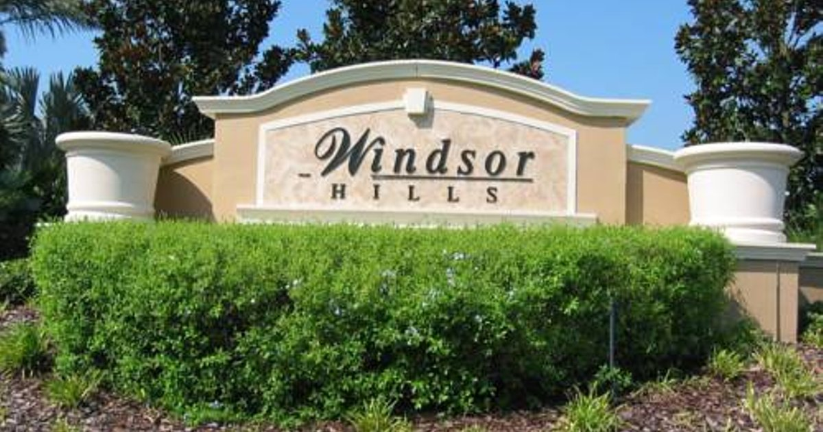 Windsor Hills Resort Six Bedroom House with Private Pool R28