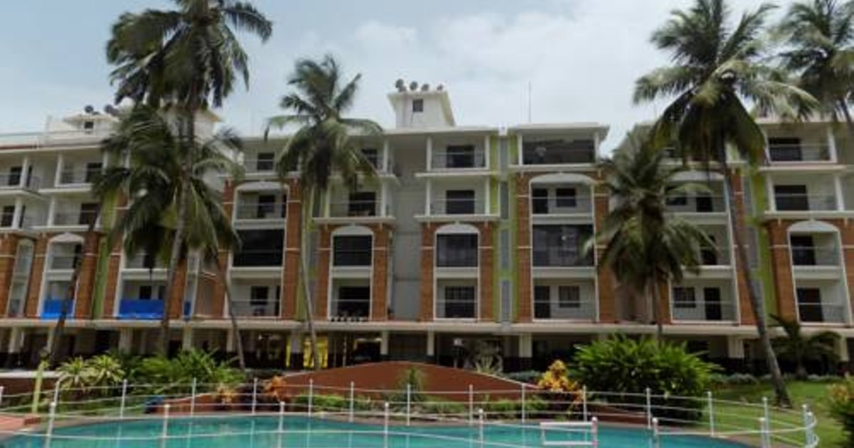 1 BHK Apartment Near Candolim Beach:CM017