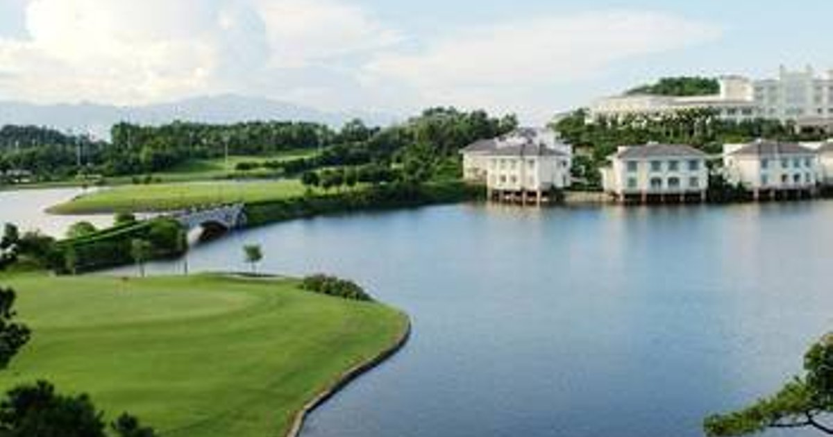 Lakefront Golf Club And Resort Huizhou