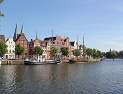 Luebeck hotels with river view