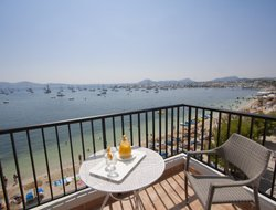 Port de Pollenca hotels with sea view