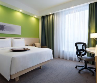 Отель Hampton by Hilton Minsk City Center