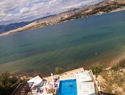 Top-4 hotels in the center of Pag
