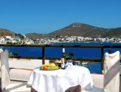 Top-6 hotels in the center of Patmos Island