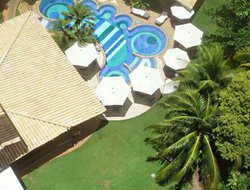 Top-4 hotels in the center of Praia Do Forte